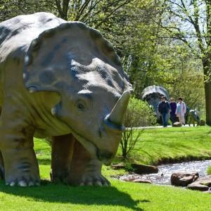 Centrosaurus im Neumühlepark