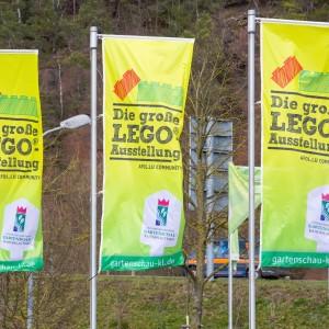 Flaggen Lego