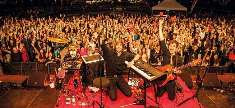 Flo und Chris, Konzert, Gartenschau, Kaiserslautern, Veranstaltungshalle