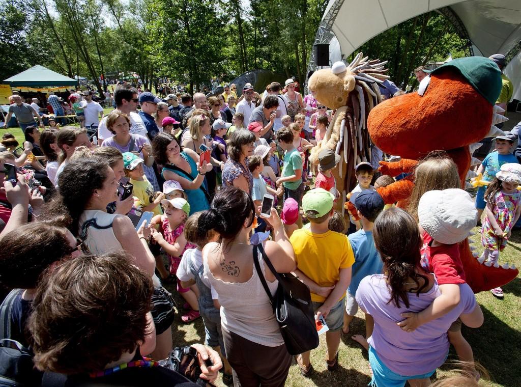 Kinderfest Gartenschau