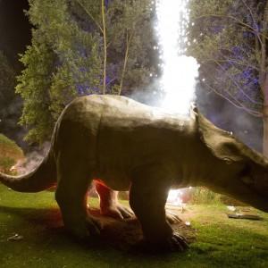 Jurassic World auf der Gartenschau