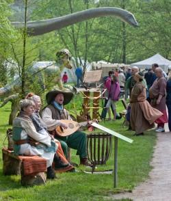Musikanten im Neumühlepark