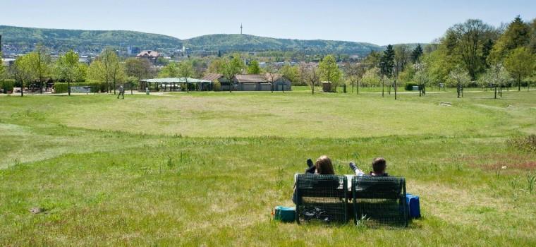 Kaiserslautern, Kaiserberg, Gartenschau.      05.05.2016  Foto: Martin Goldhahn / view